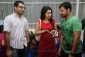 Ramya, Arvind Akash @ Suriya Venkat Prabhu Movie Pooja Stills