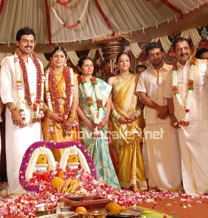 Karthi Wedding Card Tamil Actor