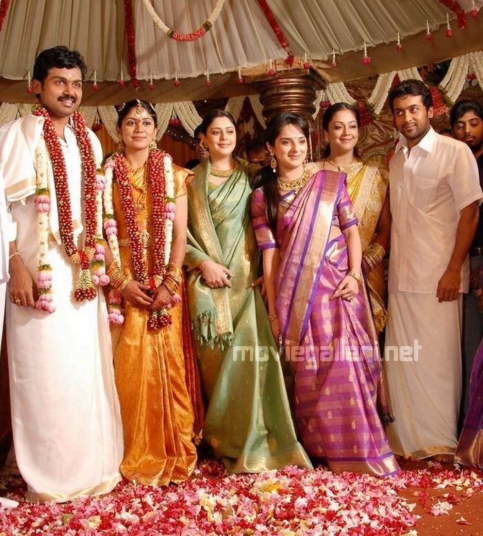 ... 33611 | Surya and Jyothika @ Karthi Wedding Photos | New Movie