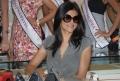 Actress Sushmita Sen at Vasundhara Jewellers, Hyderabad