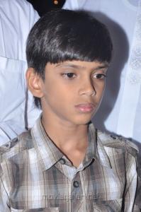 Riyaz Khan son Firoj at Sutta Pazham Sudatha Pazham Movie Shooting Spot Stills