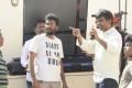 Suseenthira, Ramprakash Rayappa @ Suttu Pidikka Utharavu Movie Working Stills