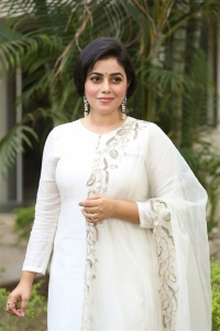Actress Poorna @ Suvarna Sundari Movie Pre Release Event Stills