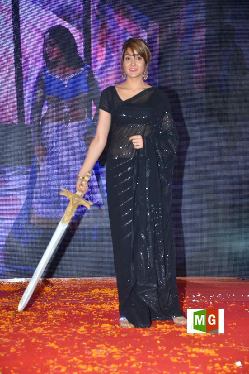 Actress Sakshi Chowdary @ Suvarna Sundari Movie Trailer Launch Stills