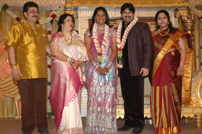 picture 56490 sv sekar son wedding reception stills