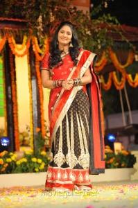 Anchor Jhansi at SVSC Movie Audio Release Function Photos