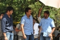 Mahesh Babu, Venki, Srikanth Addala at SVSC Shooting Spot Stills