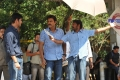 Mahesh Babu, Venkatesh, Srikanth Addala at SVSC Shooting Stills
