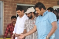 Mahesh Babu, Srikanth Addala, Venkatesth at SVSC Shooting Spot Stills