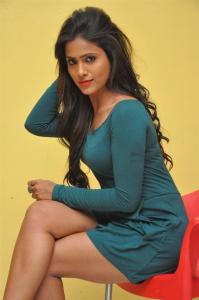 Actress Prashanthi @ Swachh Hyderabad Cricket Match 2017 Press Meet Stills