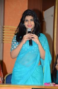 Actress Alekhya @ Swachh Hyderabad Cricket Match 2017 Press Meet Stills