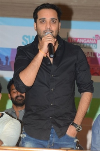 Actor Tarun @ Swachh Hyderabad Cricket Match 2017 Press Meet Stills