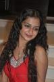 Actress Swarna in Red Dress Hot Photoshoot Stills