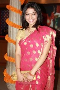 Actress Anuja Iyer at Swarna Sangeetham Season 2 Press Meet Photos