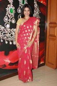 Actress Anuja Iyer Photos at Swarna Sangeetham Season 2 Press Meet