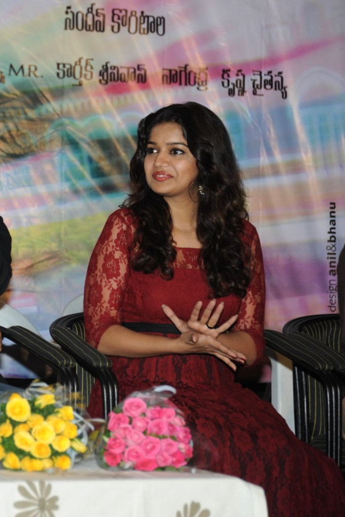 Swati Reddy Cute Pics at Swamy Ra Ra 50 Days Function