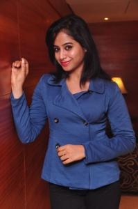 Swathi Deekshith Photos at Homeo Trends Logo Launch, Hyderabad