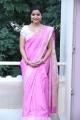 Swathi Promotes Tripura In A Pink Saree