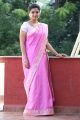 Telugu Actress Swathi Reddy in Pink Saree Photos