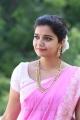 Tripura Actress Colours Swathi in Pink Saree Photos