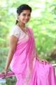 Actress Colours Swathi Reddy in Pink Saree Photos