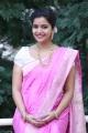 Colours Swathi in Pink Saree Photos