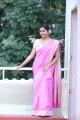 Actress Colours Swathi Reddy in Traditional Pink Banarasi Saree Photos