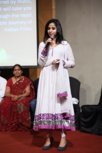 Actress Swati Dixit New Stills @ Black is Black Event Hyderabad