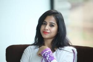 Beautiful Swathi Deekshith at Black is Black Event in Hyderabad