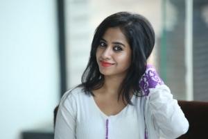 Actress Swathi Dikshith New Stills @ Black is Black Event Hyderabad