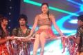 Telugu Actress Swetha Basu Prasad Hot Dance Performance Stills