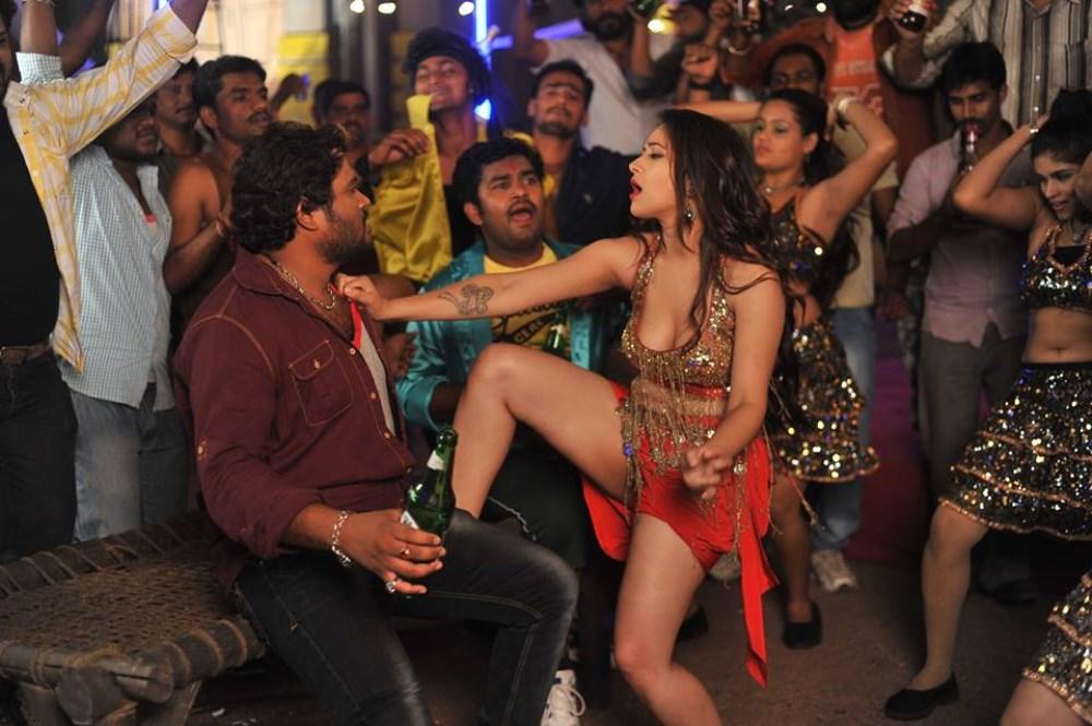 Swetha Basu Hot Item Song Stills from Intelligent Idiots