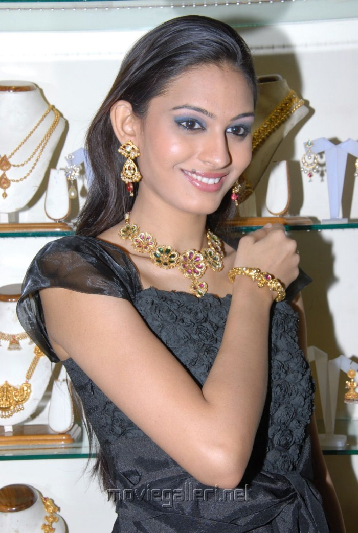 Model Shweta Jadhav in Black Dress Stills