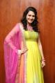 Actress Swetha Jadhav Hot in Yellow Churidar Stills
