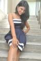 Telugu Actress Swetha Pandit Hot Pics in Mini Strapless Dress