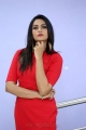Telugu Actress Swetha Varma Photoshoot in Red Mini Frock