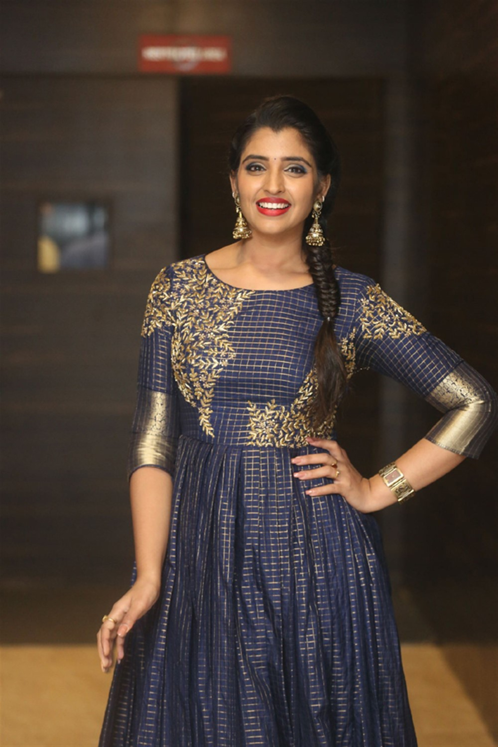 Anchor Syamala Pictures @ Marshal Pre Release Function
