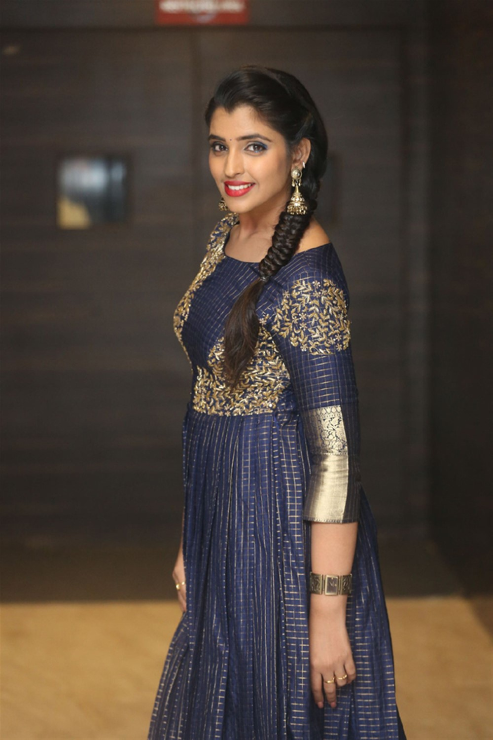 Anchor Shyamala Pictures @ Marshal Movie Pre Release