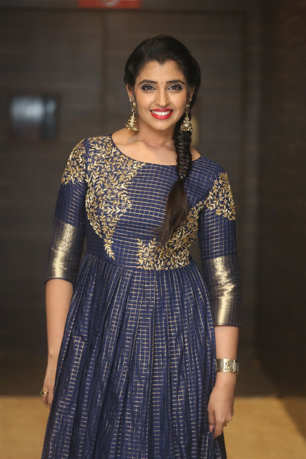 Anchor Shyamala Pictures @ Marshal Movie Pre-Release Event