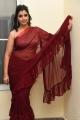 Anchor Syamala Red Saree Stills