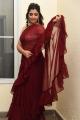Anchor Shyamala Red Saree Stills @ Thellavarithe Guruvaram Pre Release