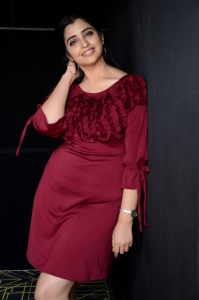 Anchor Syamala Cute Photos @ Red Movie Trailer Launch