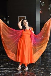 Anchor Shyamala Latest Pics @ Tuck Jagadish Movie Press Meet