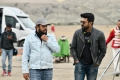 Surender Reddy, Ram Charan @ Sye Raa Narasimha Reddy Movie Working Stills