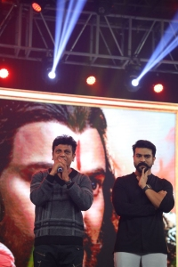Shivarajkumar, Ram Charan @ Sye Raa Pre Release Event in Bangalore Photos