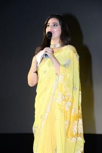 Anchor Manjusha @ Syeraa Narasimha Reddy Movie Trailer Launch Stills