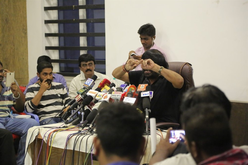 Jallikattu Issue T Rajendar Press Meet Photos