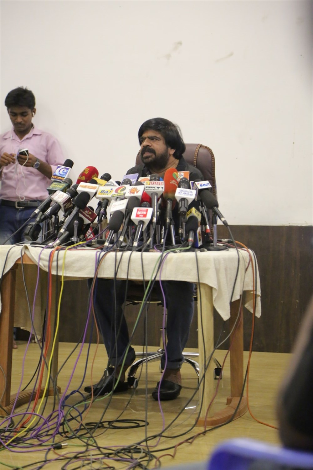 Jallikattu Issue T Rajendar Press Meet Photos