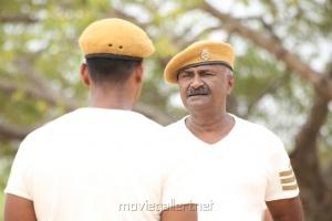 Actor MS Bhaskar in Taanakkaran Movie Stills