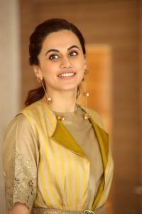 Actress Taapsee Latest Photos @ Neevevaro Press Meet